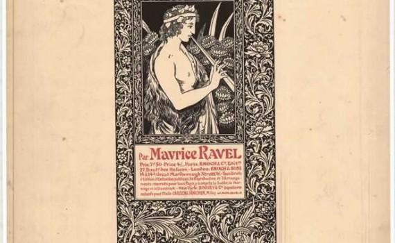 Cover art from sheet music from the Lucien Garban Musical Score Collection