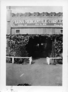 Luna Mercantile Corp.,  1932 Delano, California