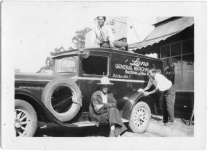 Delivery Truck, Luna Mercantile Corp., Delano, CA