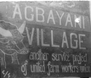 agbayani village sign