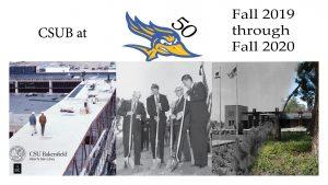 CSUB at 50 Banner