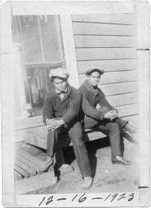 Ramon Domingo (left) 1923
