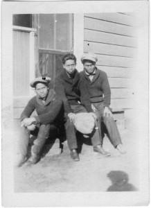 Ramon Domingo (right), 1923