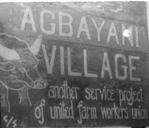 agbayani village sign