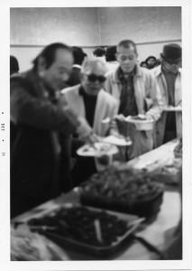 Feast buffet line