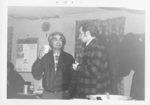 Philip Vera Cruz and Unidentified Man