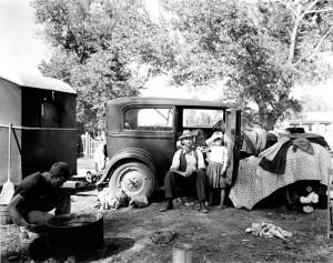 Auto Camp in California