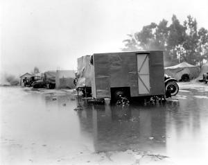 Camp during pee harvest 2, California