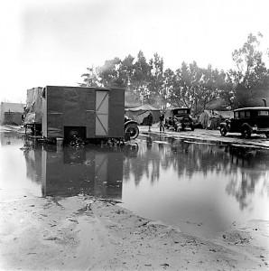 Camp during pee harvest 3, California