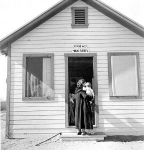 Camp nursery, Kern County, California