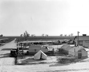 Camp in Kern County, California
