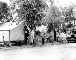 Refugees' home (1), California