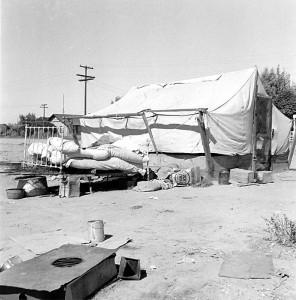 Refugee's home (2), California