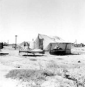 Refugee's home (3), California