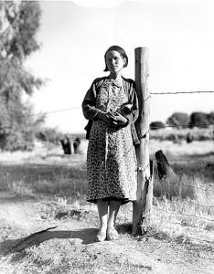 Pregnant woman, Kern County, California