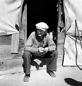 Tubercular migrant, Kern County, California