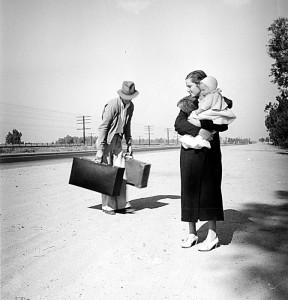 Oklahoma refugees (2) in California