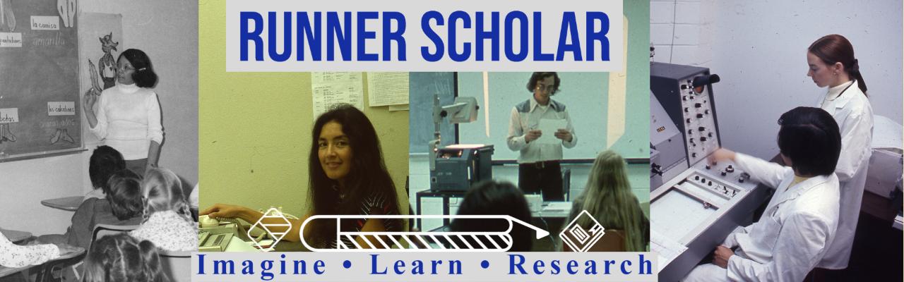 Runner Scholar banner one