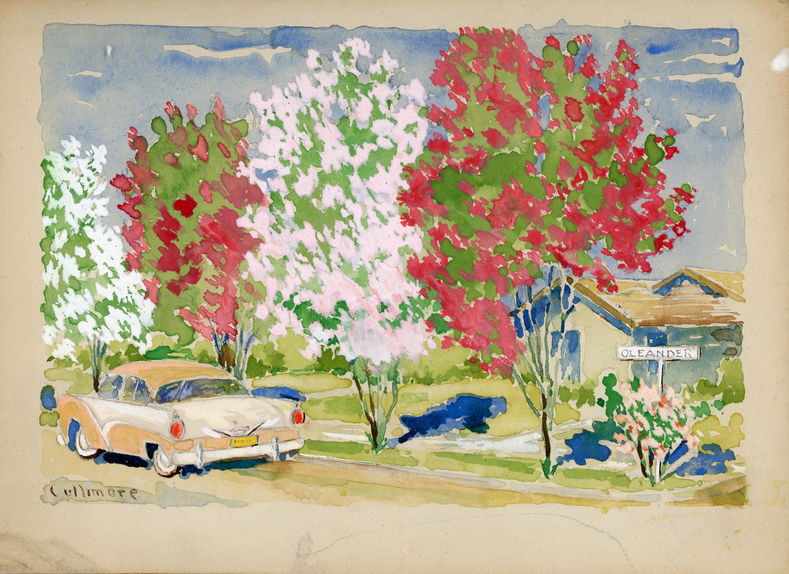 Cullimore watercolor