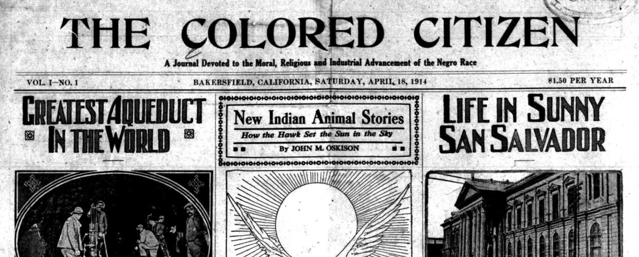 colored citizen newspaper